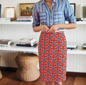 Boden Modern Pencil Skirt 4 petite NWOT